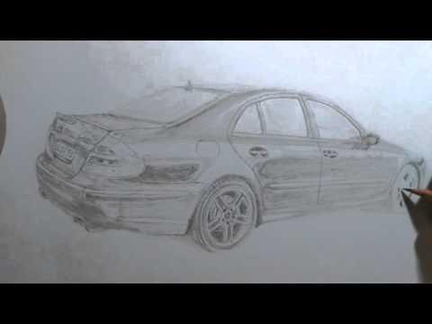 Auto zeichnen Bleistift - YouTube