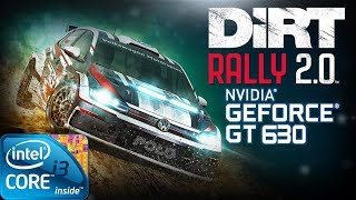 DiRT Rally 2.0 | Gameplay ON GT630 2GB DDR3 [HD]