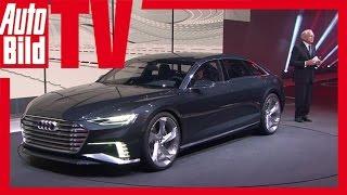 Audi präsentiert auf dem Konzernabend 2015 in Genf die Studie Audi ...