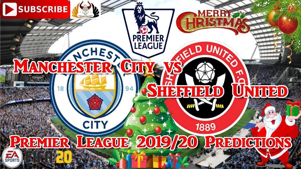 Manchester City vs Sheffield United | 2019-20 Premier ...