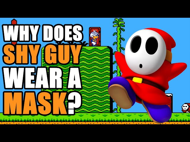 Why Does Shy Guy Have A Mask?