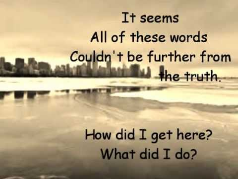 Secondhand serenade - Pretend lyric video