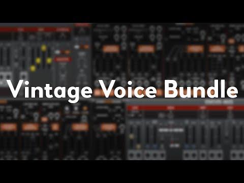 Voltage Modular | Vintage Voice Bundle