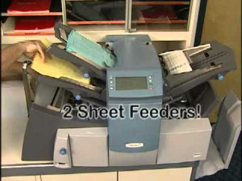 SECAP SI3500 - Folder Inserter - Envelope Stuffer