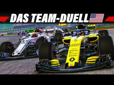F1 2018 KARRIERE #19 – Austin, USA GP | Let's Play Formel 1 Deutsch Gameplay German