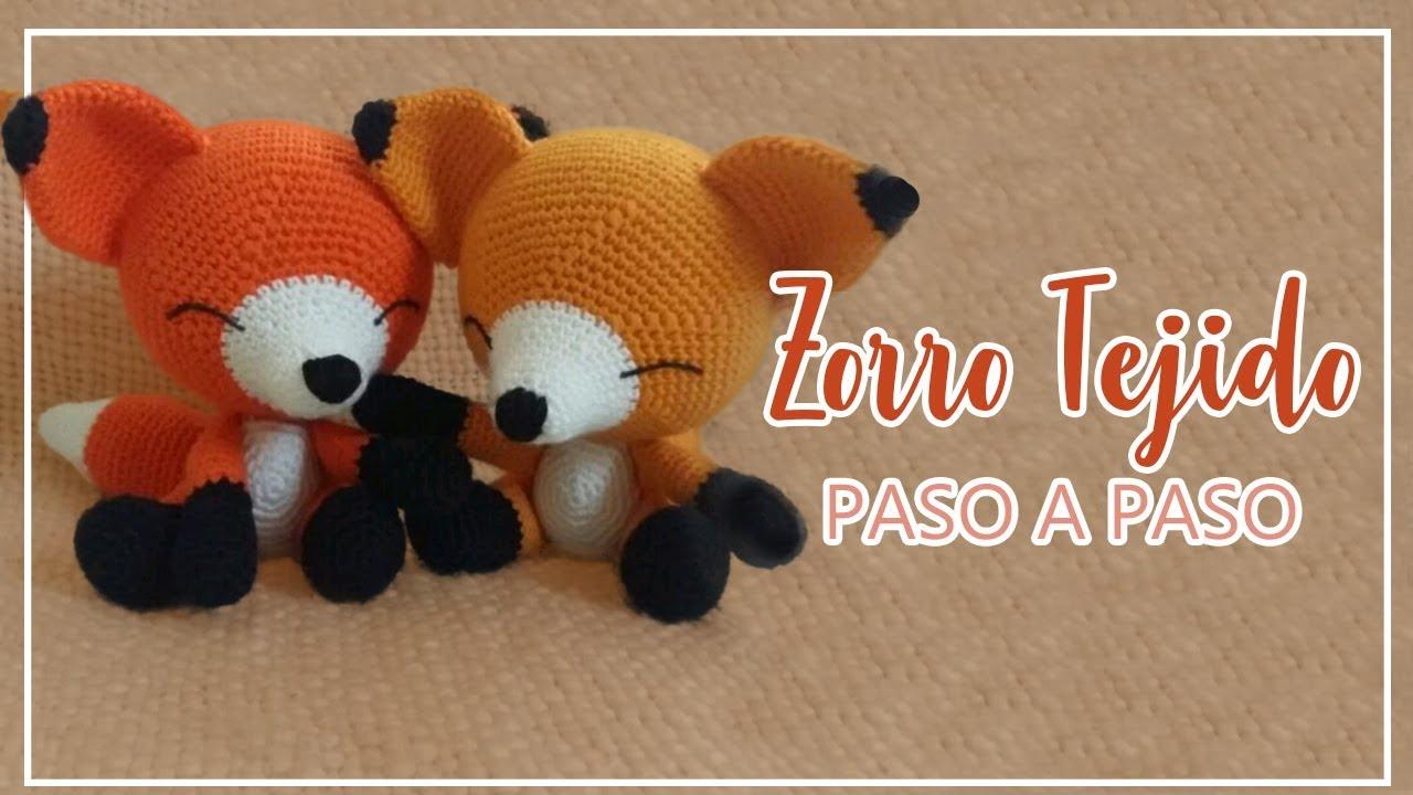 Llavero Zorro Amigurumi Tejido A Crochet Zorrito Fox - $ 120.00 en ... | 720x1280