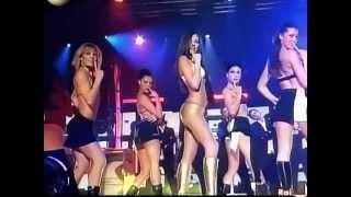 Repeat youtube video Giorgia Palmas Culo compilation - tette culetto in mostra stacchetti a cd live + rallenty
