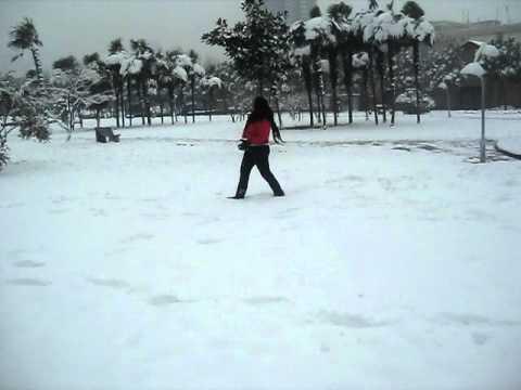 snowin in wuhan