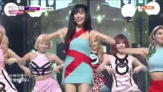 [60 FPS] [20150826] Girls' Generation (소녀시대) _ Lion Heart [MBC Show Champion] [Live] [HD]
