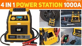 CAT Professional Jump Starter, Air Compressor, Charging and LED Power Station