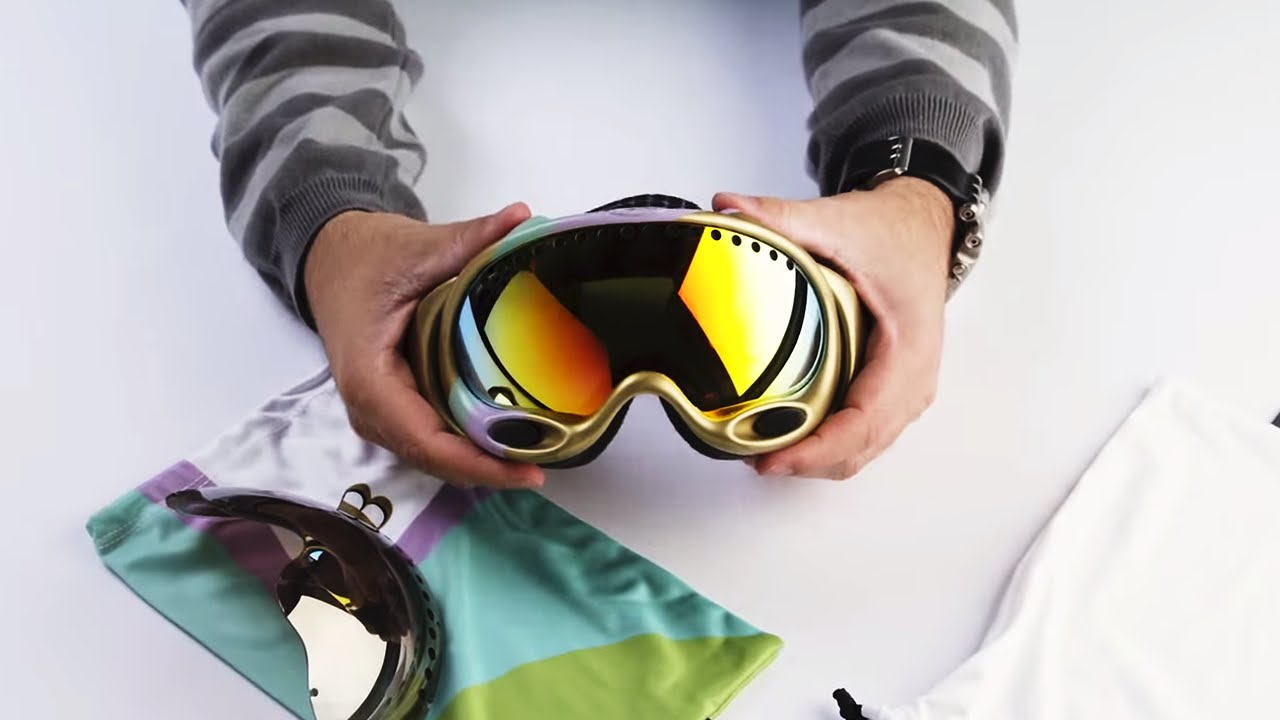 Oakley A Frame Goggle: Lens Change Tutorial - YouTube