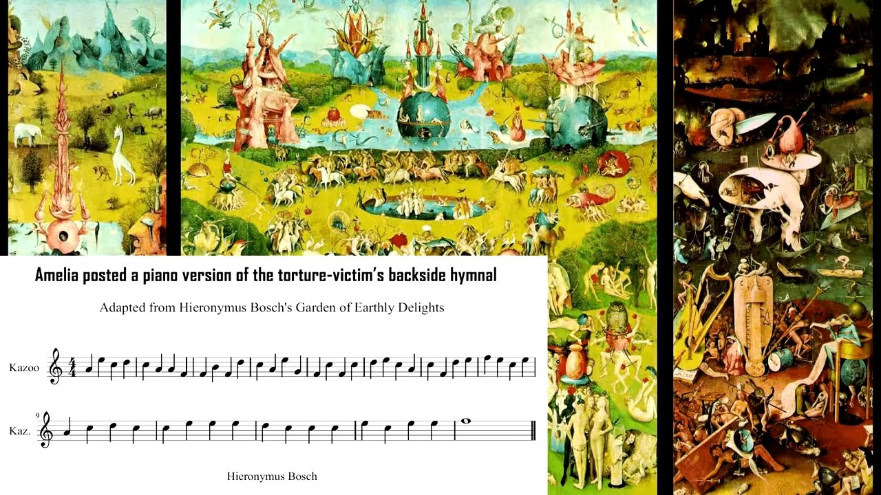 600 Years Old Sinners Hymn Hidden In Hieronymus Bosch S Painting The Garden Of Earthly Delights Youtube