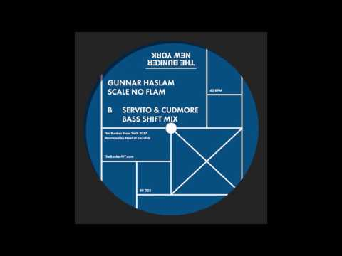 """Gunnar Haslam - """"Scale No Flam Servito & Cudmore Bass Shift Mix""""  (The Bunker New York 023)"""