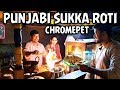 Punjabi Chukka Roti Night Street Food Shop at Chromepet