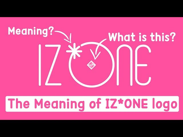 Stop Writing IZONE WRONG!! What is the meaning behind IZ*ONE logo?