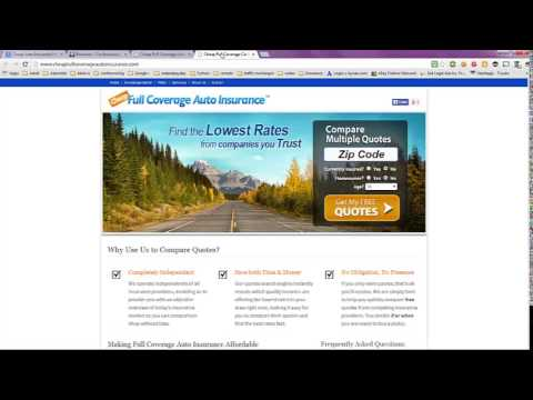 Cheap Auto Insurance Policies with Full Coverage