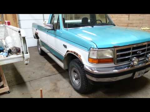 1994 F150 Restoration Part #1