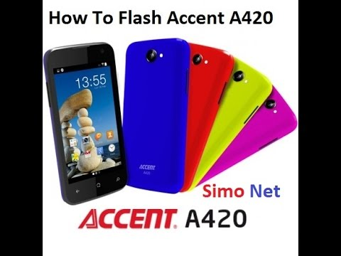 How To Flash Accent A420