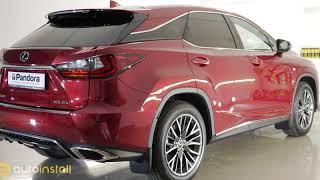 Lexus RX 200T RX350 Установка сигнализации, полировка, керамика, шумоизоляция. Часть 1