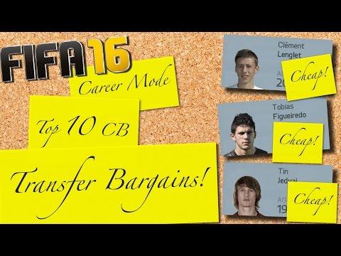 FIFA 16   Top 10 CB Transfer Bargains   Career Mode