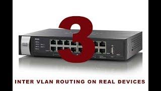 3 - INTER VLAN ROUTING ON REAL DEVICES | ON MLS | شرح عملى لربط الشبكات الوهمية VLAN