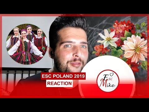 Eurovision Poland 2019 - REACTION [Tulia - Fire of Love (Pali Się)]