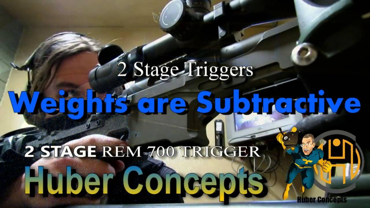 2 Stage Rem 700 Trigger – Traditional