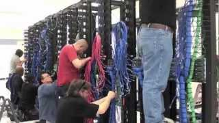 Cabling a SoftLayer Data Center Server Rack