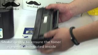 How to install Moustache MLT D104S toner cartridge for Samsung ML 1660 by 123Ink.ca