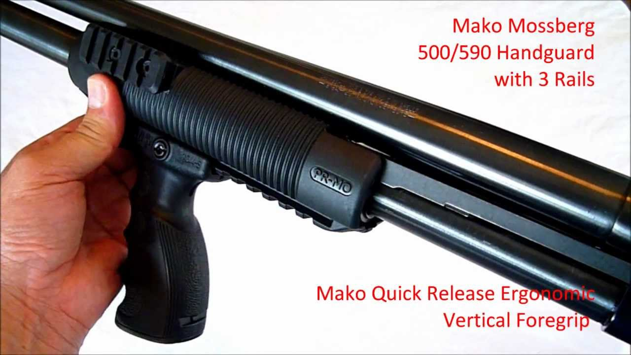 Maverick 88 Tactical Forend Grip Youtube