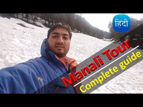 (Part1) Watch before Going manali | Manali Tour Tips & planning