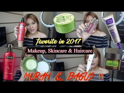 Makeup,Skincare & Haircare BAGUS & MURAH selama 2017!! | Dinda Shafay (Bahasa)