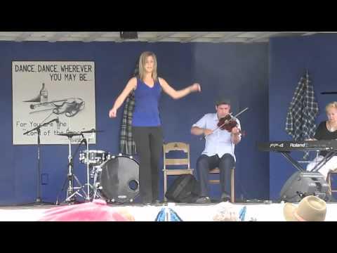 Scottish Step Dance Performance at the Broad Cove Scottish Concert in Cape Breton