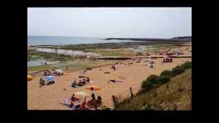 Plage de Boisvinet à Jard sur Mer (Vendée)