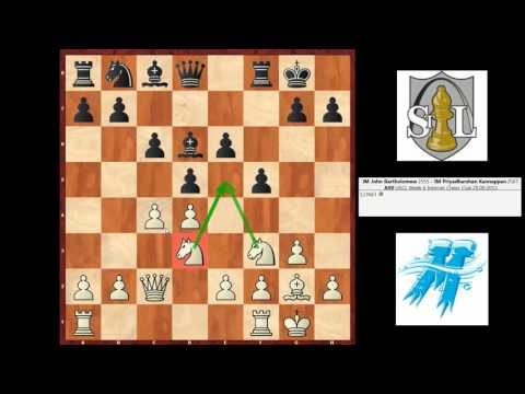 Tournament Analysis #6: IM Bartholomew vs. IM Priyadharshan Kannappan (Dutch Defense)