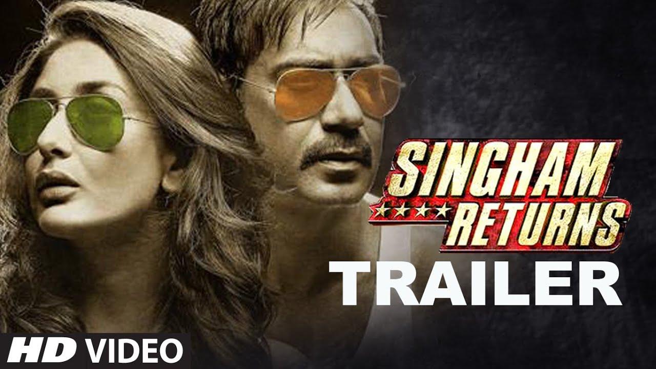 Download Official: Singham Returns Theatrical Trailer   Ajay Devgn   Kareena Kapoor   Rohit Shetty
