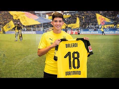 New Argentinian Signing for BVB | Leonardo Balerdi Interview