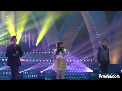 Sungmin Ryeowook EunjI(Apink) - Way back into love