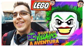 Comprei O MAIOR LEGO Da Minha Coleção? - LEGO DC Super Villains - A Aventura (Parte 01)
