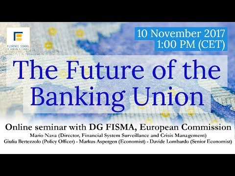 The Future of the Banking Union - Seminar with the European
