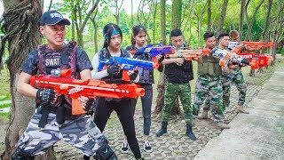 LTT Nerf War : SEAL X Warriors Nerf Guns Fight Criminal Group Suicide Squad Deadshot