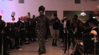 BEST GOWN @ MIAMI FACE2FACE BALL 2013