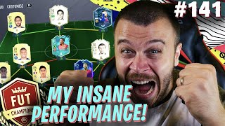 FIFA 20 OMG MY INSANE FUT CHAMPIONS PERFORMANCE WITH MY OVERPOWERED UPGRADED TEAM!