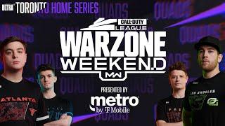 PRO QUADS KILL RACE — CUSTOM WARZONE LOBBY | Warzone Weekend #6 | Toronto Ultra Home Series