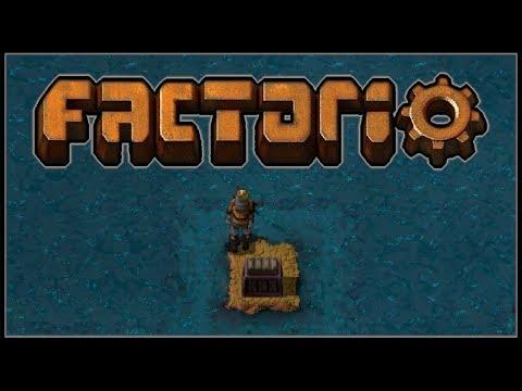 Factorio Sea Block #1 - An Intergalactic Starship Made of Water Sediment (0.15)