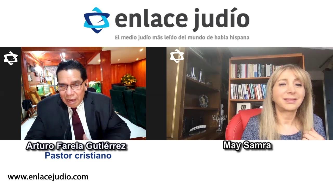 Líder de 7000 iglesias cristianas apoya a Israel desde México. Arturo Farela y CONFRATERNICE
