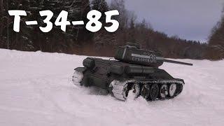 Тест-Драйв И Доработка Танка Т-34-85 (Rc Tank)