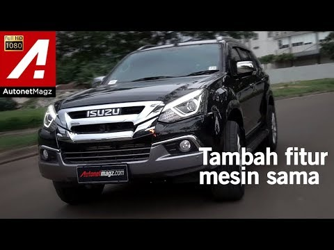 Isuzu MU-X Facelift 2017 Review & Test Drive by AutonetMagz