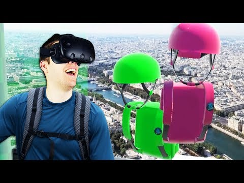 Virtual Reality Multiplayer Climbing! - Climbey Gameplay -  VR HTC Vive