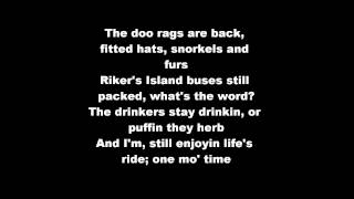 Nas - Doo Rags (HD & Lyrics On Screen)